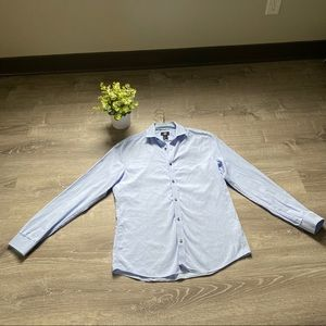 Men's H&M Slim-Fit Lt Blue Long sleeve shirt
